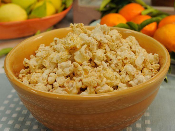 Sunny's BBQ Popcorn recipe from Sunny Anderson via Food Network