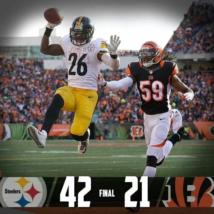 steelers stomp all over the bengirls with a victory! 2 takeaways and big  scoring plays