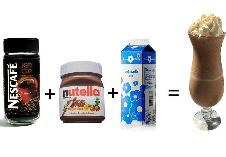 Opskrift: Verdens bedste Nutella-shake