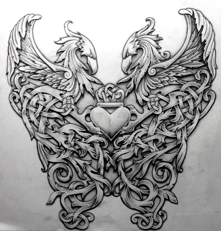 Celtic+Phoenix+by+Tattoo-Design.deviantart.com+on+@DeviantArt