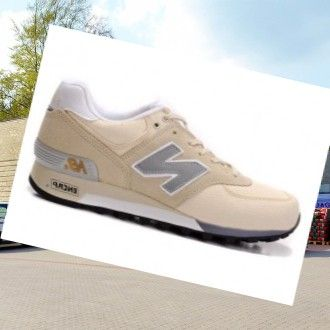 New Balance 576 Herre Trænere Beige-Grå,Wearing trainers will have a nice day.