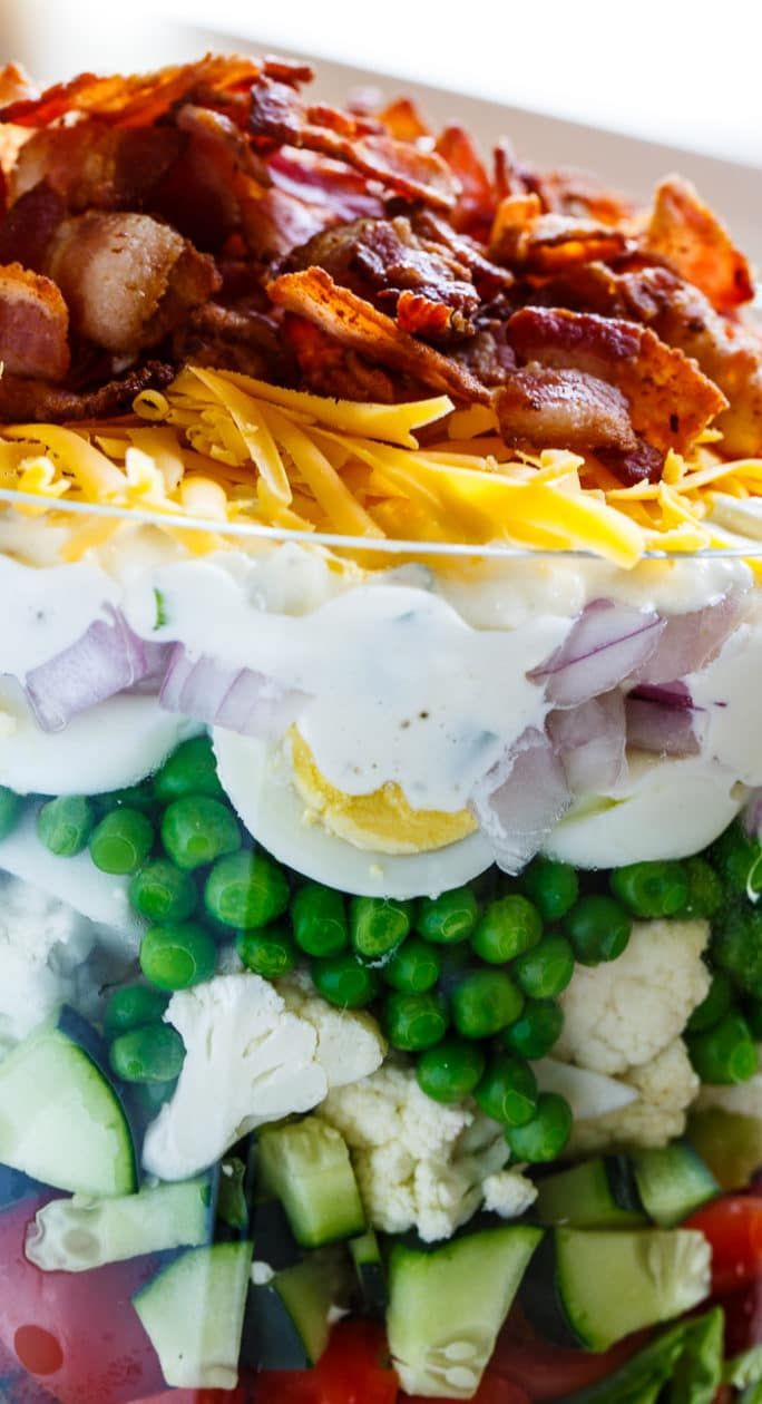 Napoleon Salad: recipe, ingredients. Layered salad with chicken and mushrooms 92