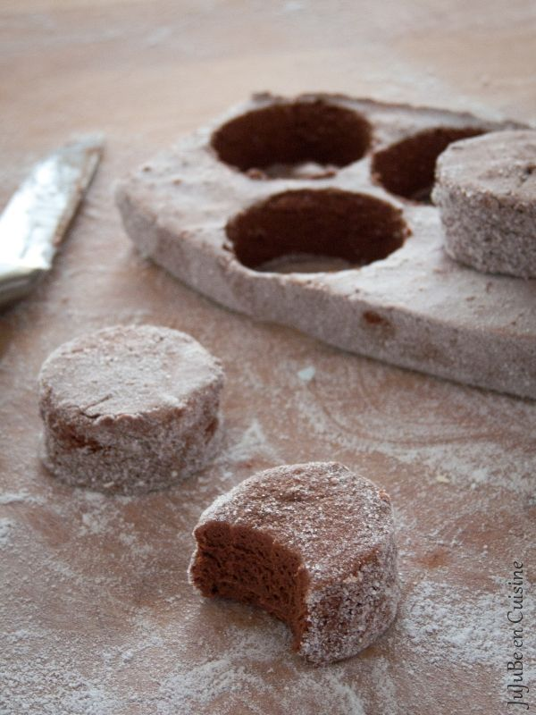 Marshmallow ou Guimauve maison au chocolat