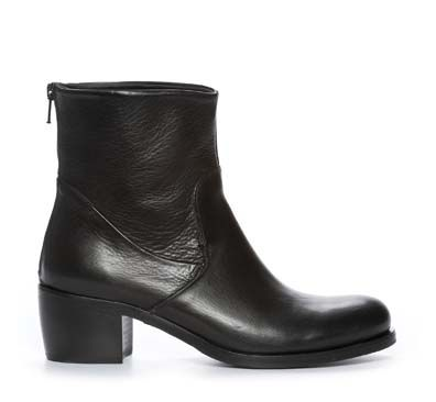 Nilson Shoes Støvletter & boots IZA ZIP BACK Skinn Svart