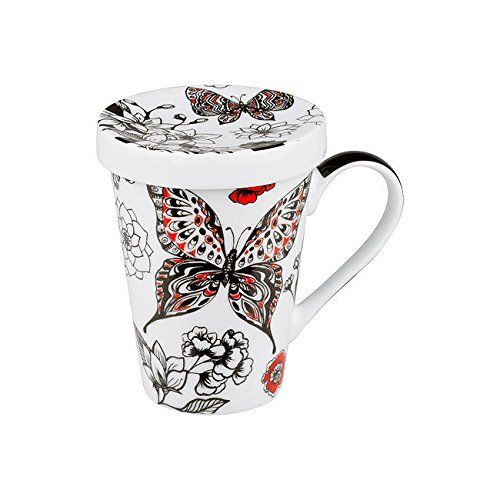One-Hand-Topper Butterfly - Black/Red
