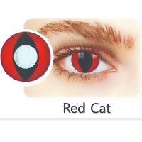 Red-Cat Eye Contact Lens