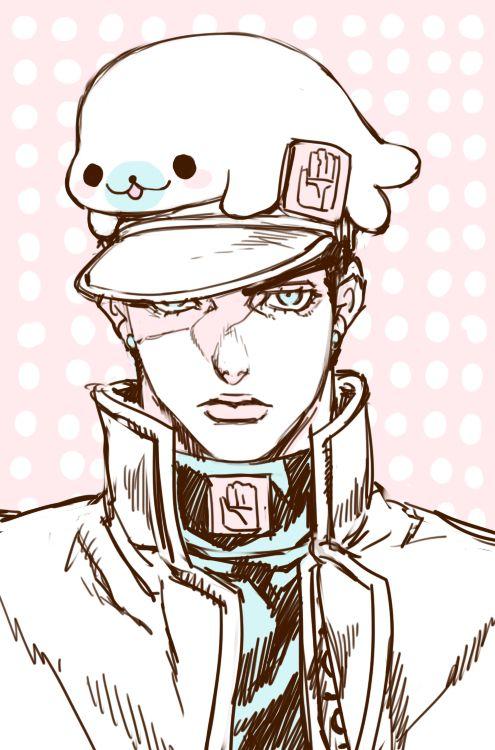 Jotaro Kujo (Jojo's Bizarre Adventure) ~ Mamegoma