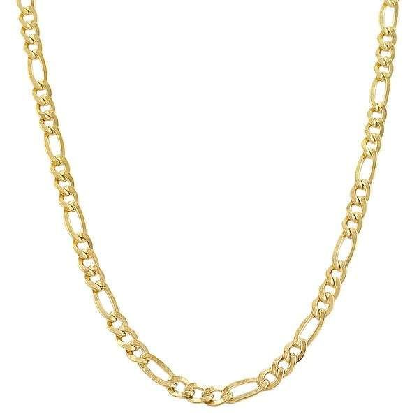 10kt Yellow Gold Figaro Chain A21b4 28 Gold Necklace For Men Gold Chains For Men Gold Chain Jewelry