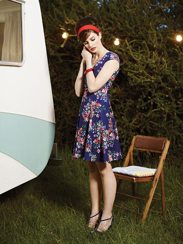 The Luciette Dress ✿ #retrostyle #vintagefashion #50s #60s