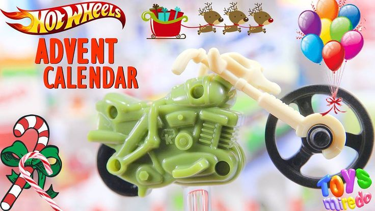 Green motorcycle from Kinder advent calendar @ToysMiredo on #youtube  #surpriseeggs #youtubekids #kindereggs
