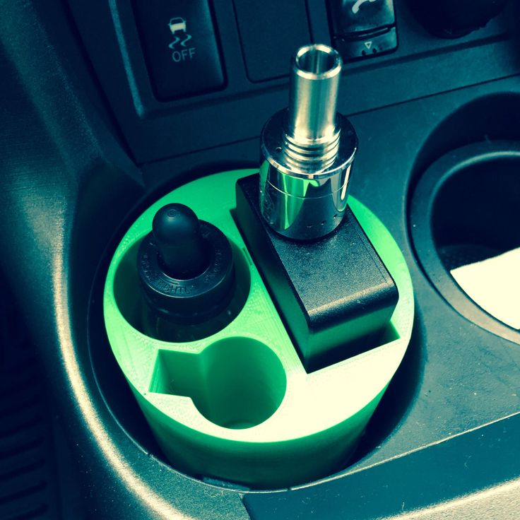 Cup holder vape stand by EvolvedPrints on Etsy https://www.etsy.com/listing/220625561/cup-holder-vape-stand