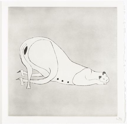 Louise Bourgeois, from Metamorfosis (published in book, second signature), Plate 1 (Cat), 1997