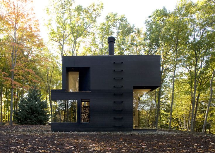 A writer's studio in upstate New York by architects Cooper Joseph Studio.