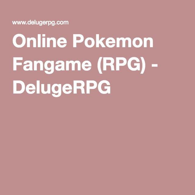 Online Pokemon Fangame (RPG) - DelugeRPG