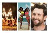 Los Ángeles de Victoria's Secret y Adam Levine gozan en Puerto Rico