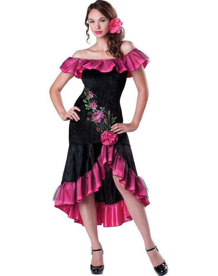 Flirty Flamenco  Womens Costume