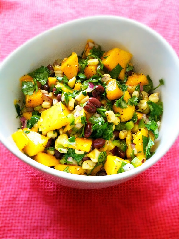 Mango Salsa. | Food! | Pinterest
