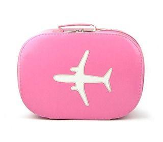 koffer vliegtuig roze - logeren - tassen en koffers - Bakker made with love - Lunabloom - ... isa