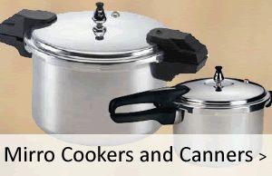 Mirro Pressure Cookers, Mirro Pressure Canners