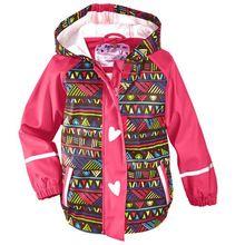 US $14.79 New Children Jackets Windproof Waterproof PU Jacket Girls Hooded Jacket Outdoor Kids Raincoat 2-9Years. Aliexpress product