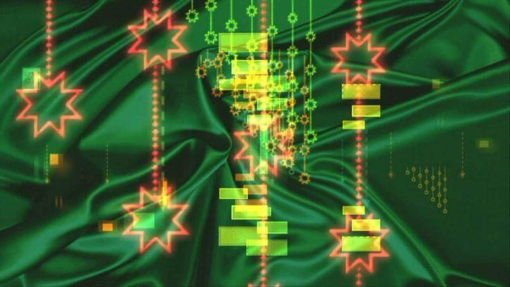 Футаж Зеленый атлас HD