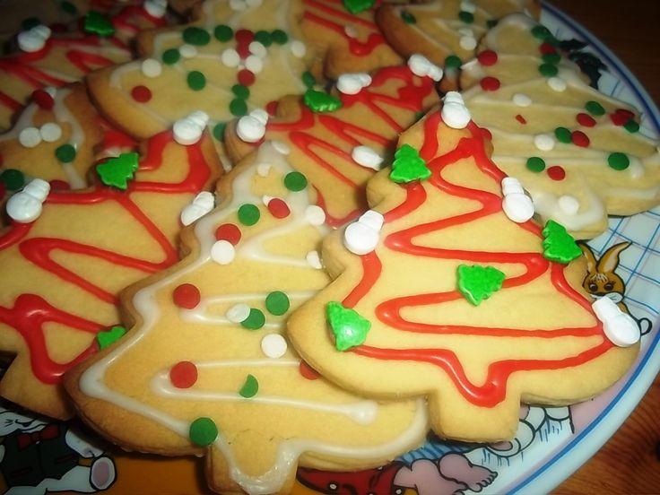 Βουτυρένια Χριστουγεννιάτικα Μπισκότα