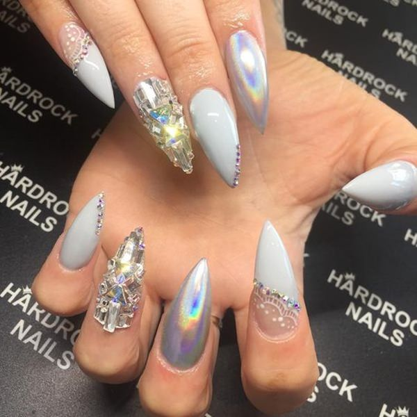 61 acrylic nails designs for summer 2019 style easily - 600×600