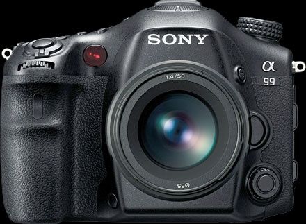 """Sony SLT-A99  24.3 megapixels 