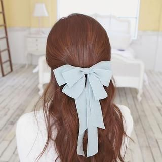 Buy 'soo n soo – Chiffon Bow Hair Clip' with Free International Shipping at YesStyle.com. Browse and shop for thousands of Asian fashion items from South Korea and more!