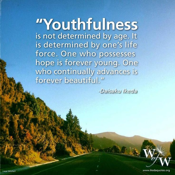 Youth as tomorrows hope