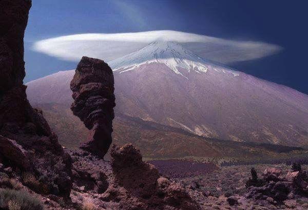 Sombrero del Teide. Tenerife