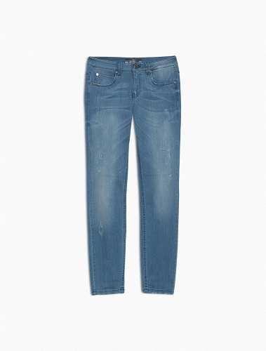 Prezzi e Sconti: #Jeans skinny stone washed chiaro Blu marino  ad Euro 119.00 in #Monaco #Abbigliamento pantaloni