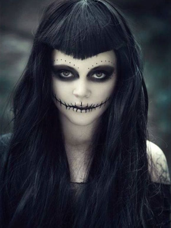 Halloween make-up inspiratie