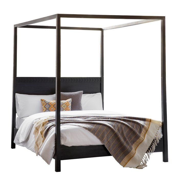 Bay Isle Home Martel Four Poster Bed Reviews Wayfair Co Uk