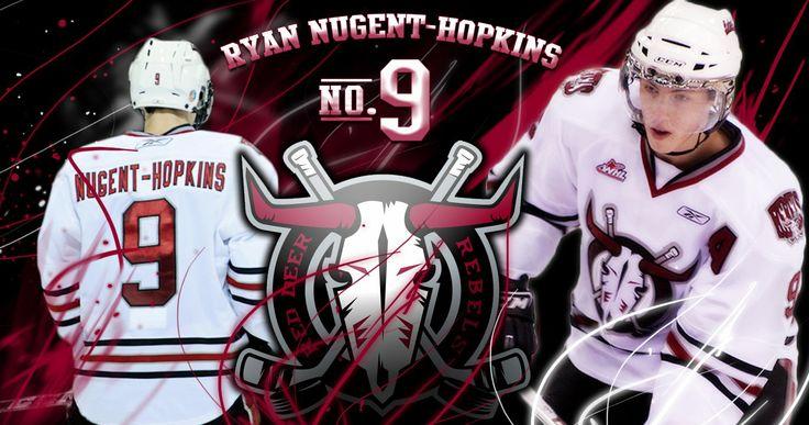 Ryan Nugent-Hopkins| Red Deer rebels #9 | Burnaby, BC Native