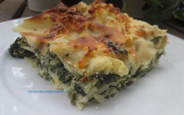 Hamburg kocht!: Kochen ohne Tüte: Spinat-Schafskäse-Lasagne