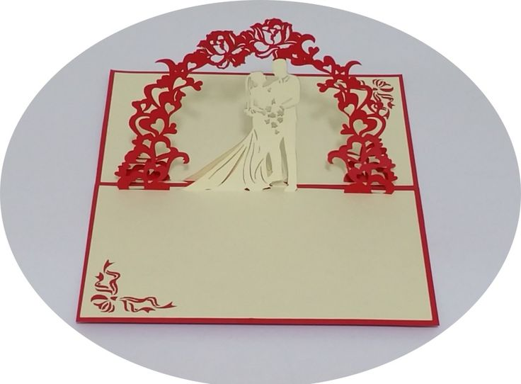 Wedding Day 2 - 3D Pop Up Cards - Greeting Cards - Ovid Gifts