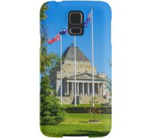 The Shrine of Remembrance - Melbourne, Victoria Samsung Galaxy Case/Skin
