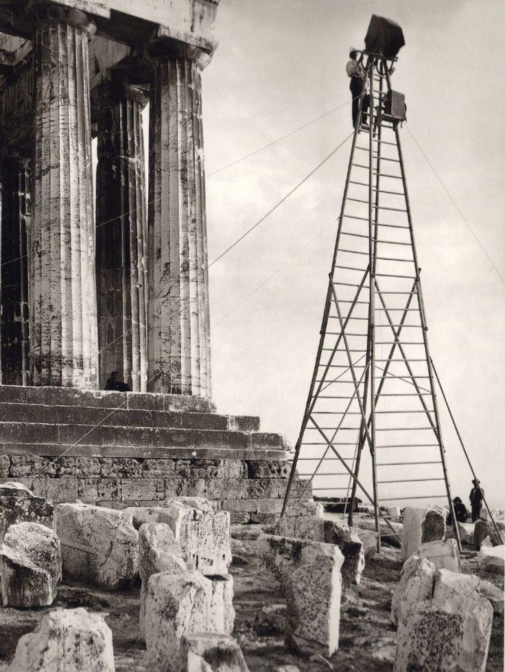 This is my Greece | The Acropolis of Athens by Fred Boissonnas (1903-1930)