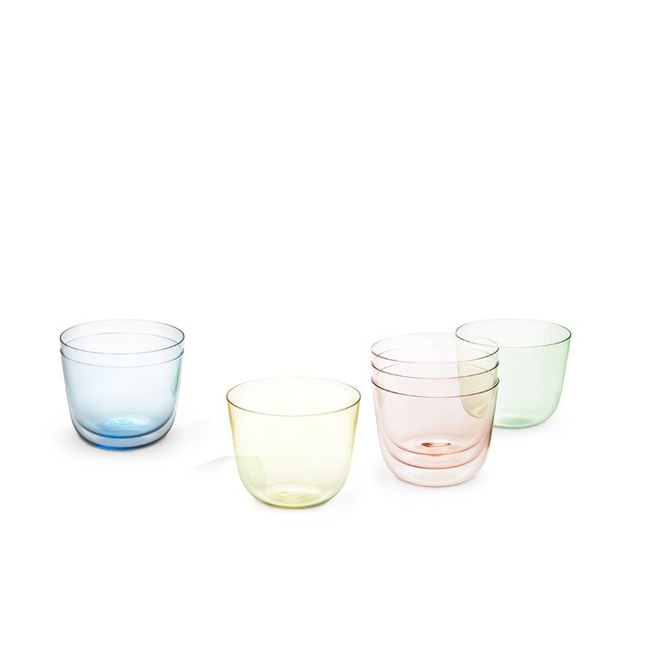 Alpha Water Tumblers, Set of 6 / Hans Harald Rath for Lobmeyr, 1952