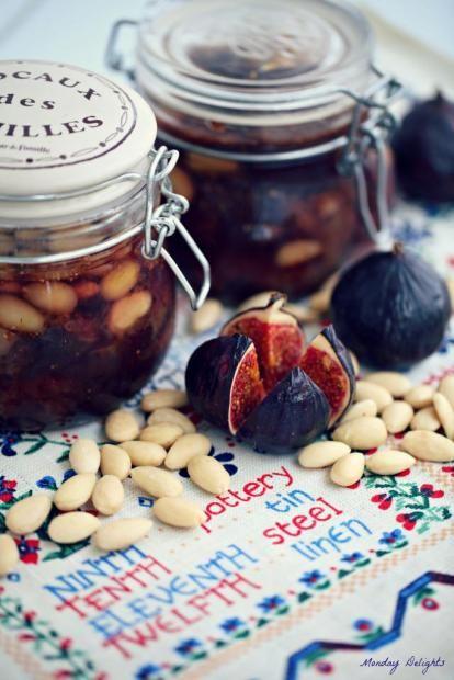 Варенье из инжира с добавлением миндаля #figjam #incirreceli