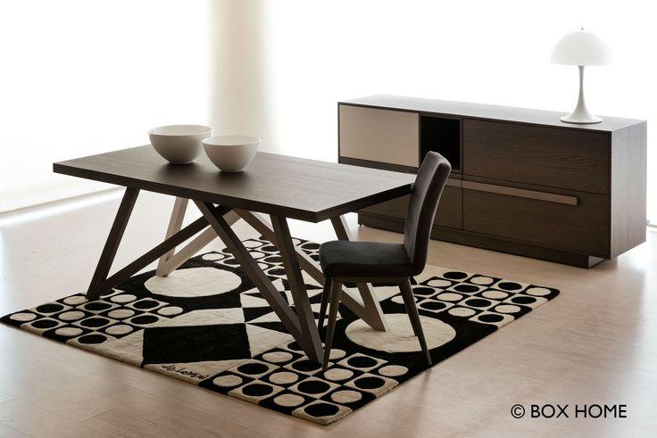 Τραπεζαρία NEMO & Μπουφές PARK  Modern dining room