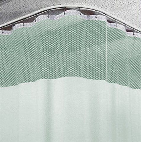 8ft Medical Curtains w/ Track Hospital Lab Clinic Room- 10ft High (Green)