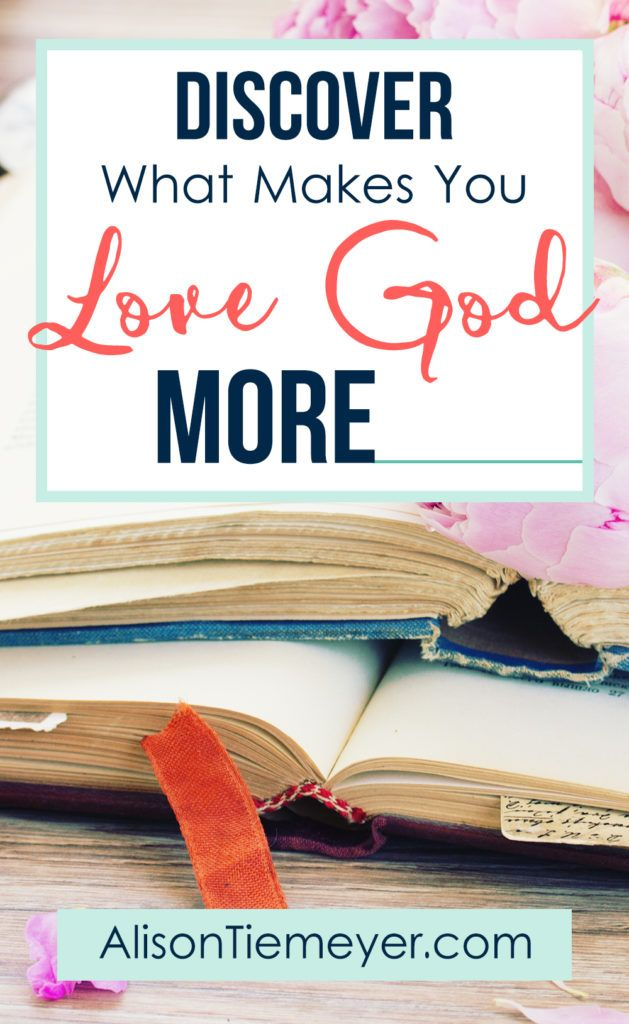 What makes you love God more? You see, you have gifts and passions that cause you to see God in a new light! Embrace those passions! Use your gifts to orient your heart to the Lord & His love for you.