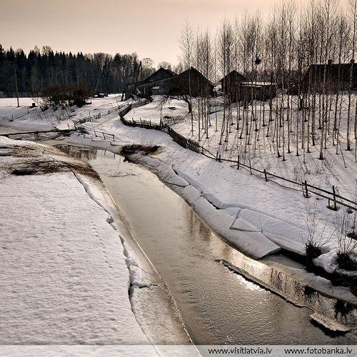 Latvia country scenebyLatvia. Northern Europe.