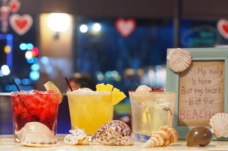 Margaritas on the Beach @ The Similans Thai Eatery #thesimilansthaieatery #margarita #drink #bar #chantilly #fairfax #virginia #thairestaurant