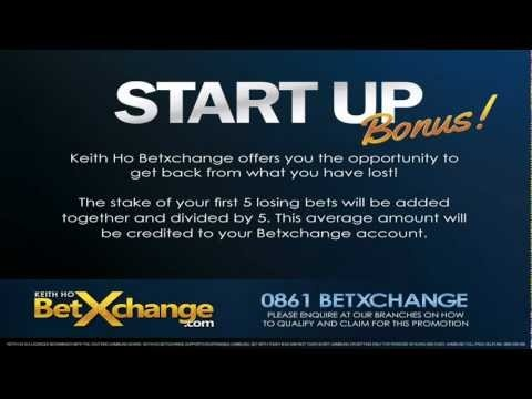 How it works The stake of your first 5 losing bets will be added together and divided by 5. This average amount will be credited to your Betxchange account.