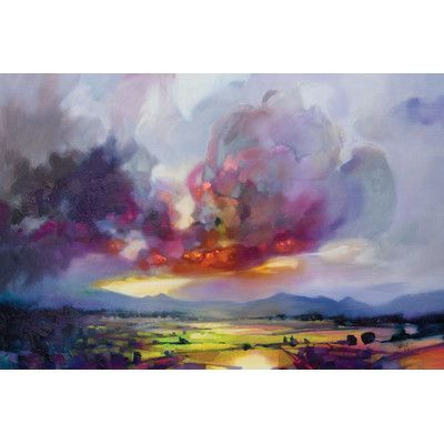 "Latitude Run Bulk Modulus Painting Print on Wrapped Canvas Size: 26"" H x 40"" W x 0.75"" D"