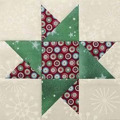 Easy Quilt Patterns For Holiday Table Runners - Make the Star of Hope with Half Square Triangles - Learn how to with a grid method that makes for fast and easy work of creating multiple HSTs.