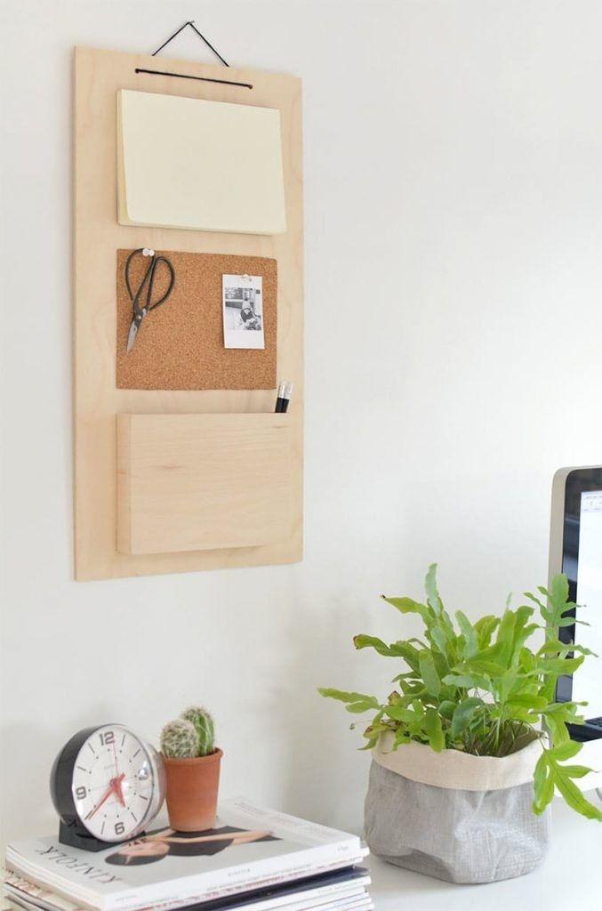 Pin Von Dieuwer Auf Project Home Diy Schreibtischorganisation Diy Schreibtisch Ideen Ordnung Auf Dem Schreibtisch